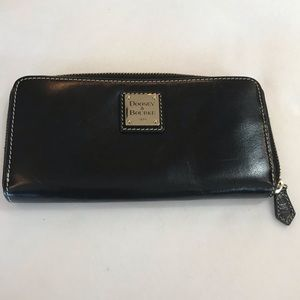 Dooney & Bourke Black Wallet